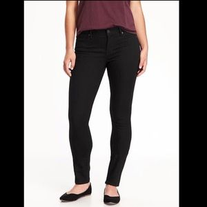 Old Navy | Curvy Black Skinny Jeans